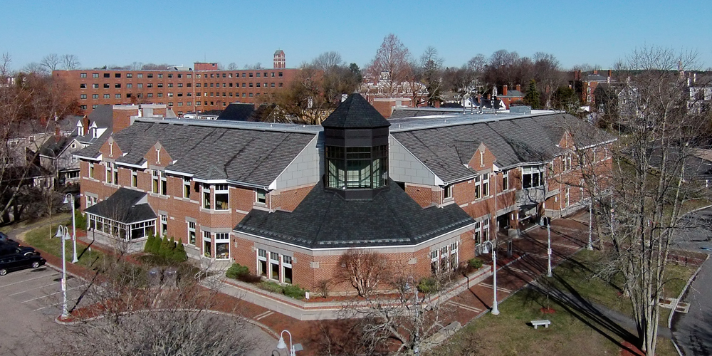 Library Aerial View