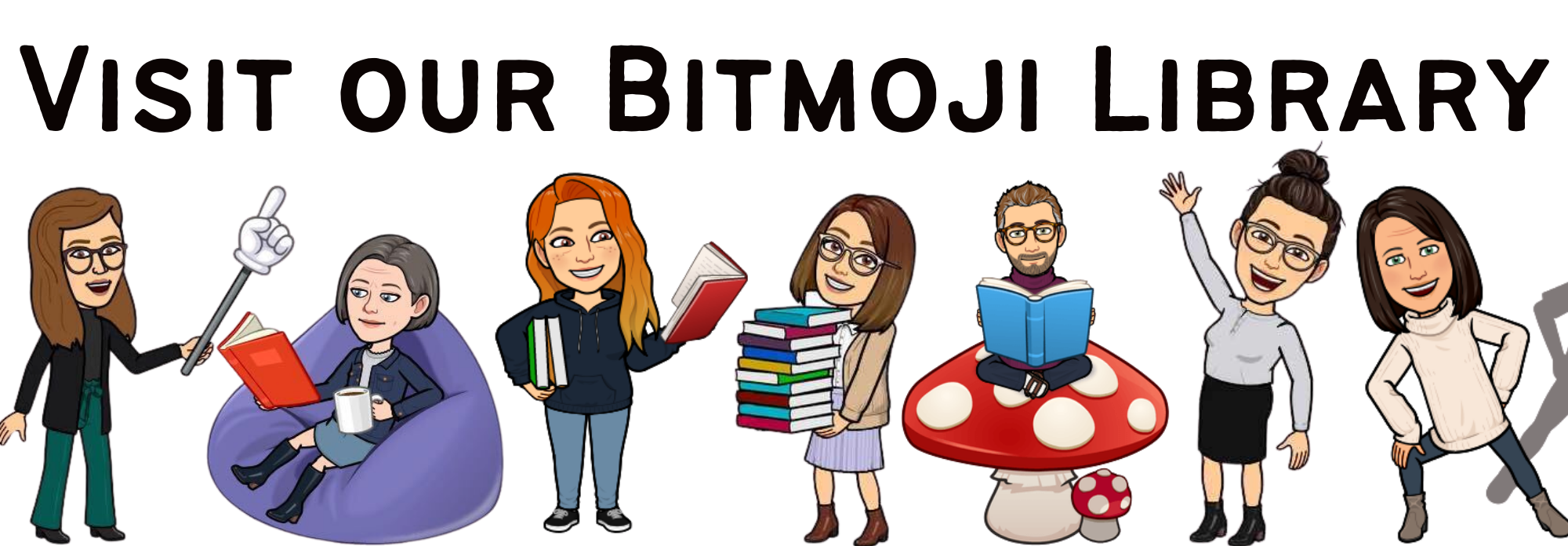 Bitmoji Library Hero -- link to bitmoji