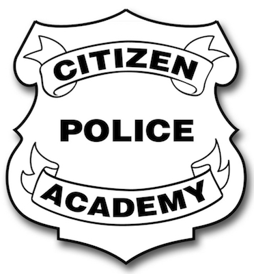 Citizen Police Academy shield