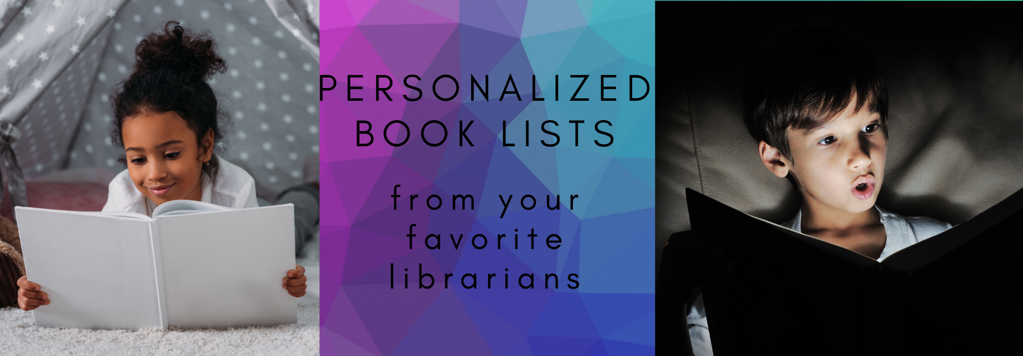 Personalized Book Lists from your favorite librarians -- link to google form