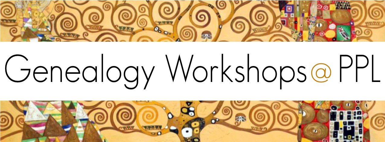Genealogy Workshops