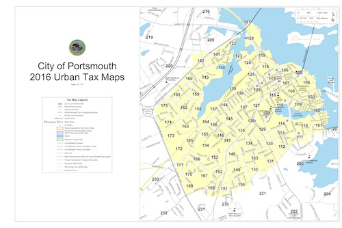 2016 Urban Tax Map