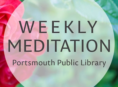 Weekly Meditation banner image – cropped