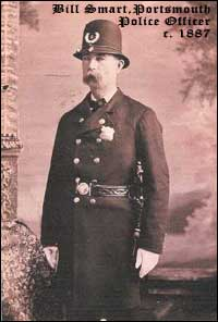 Officer Bill Smart in Uniform, c. 1887