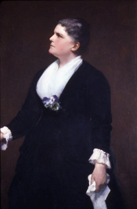 Portrait of Celia Thaxter by Otto Grundman