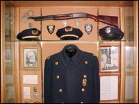 Old PPD Uniform in Display Case