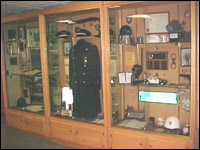 PPD Memorabilia in Display Case