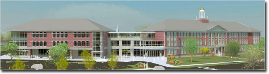 Portsmouth Middle School design rendering