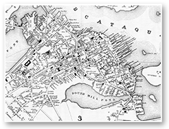 Old map of Portsmouth