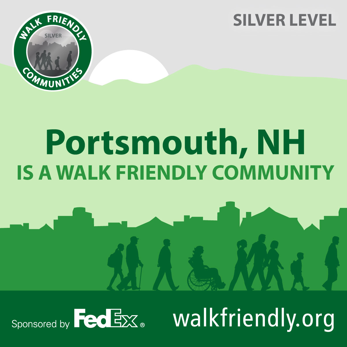 Walk Friendly logo