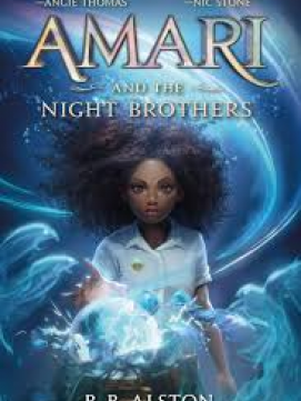Amari and the Night Brothers -- link to catalog