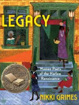 Legacy: Women Poets of Harlem -- link to catalog