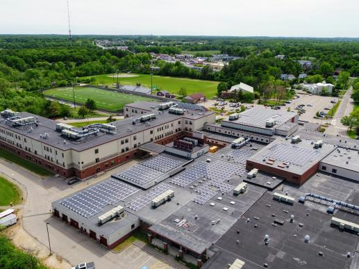 Portsmouth High School's Solar Array