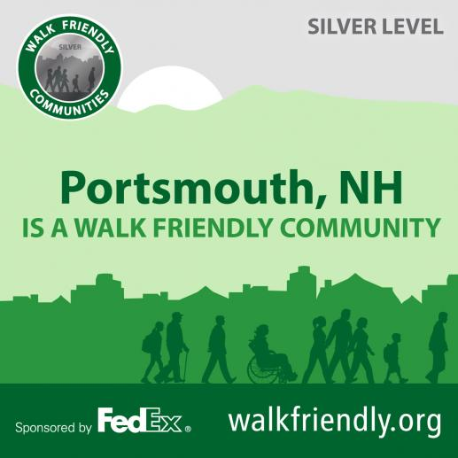 Walk Friendly Community logo
