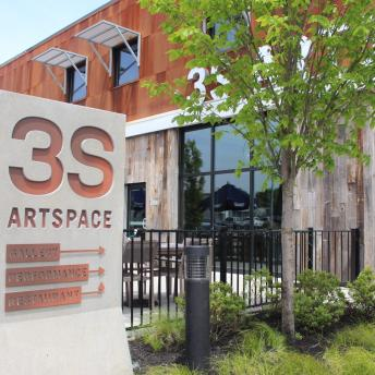 3S Artspace Sign