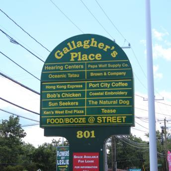 Gallagher's Place Sign