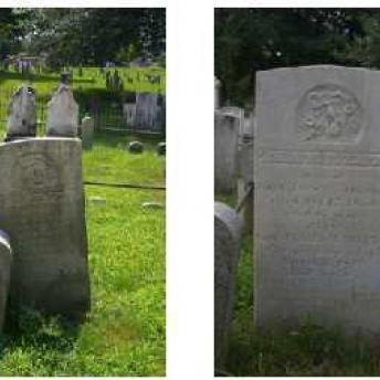 Gravestone 1 Before & After