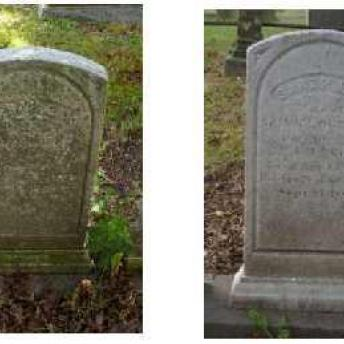 Gravestone 2 Before & After