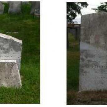 Gravestone 4 Before & After