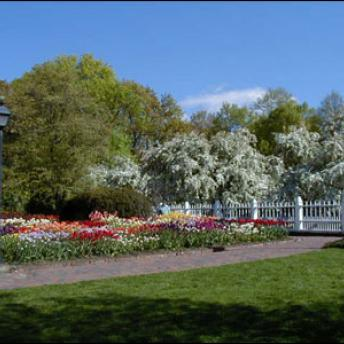 The Formal Garden at Prescott Park