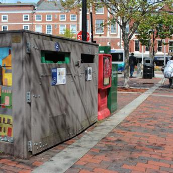 Market Square Recycling Containers