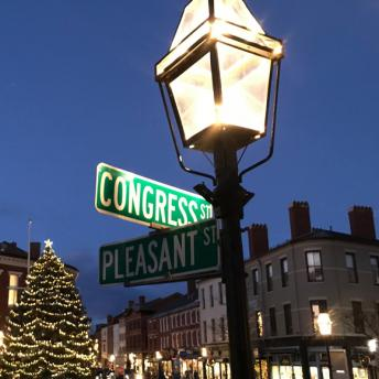 Congress/Pleasant Street Intersection