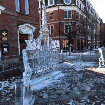 2018 Ice Sculptures