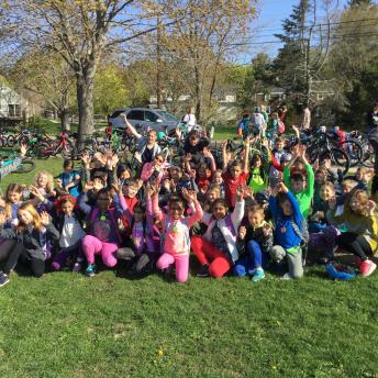 Portsmouth Walk and Bike to School Day 2018