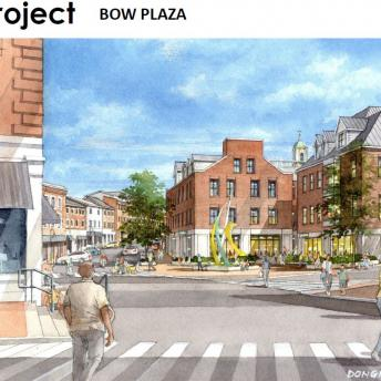 Bow Plaza Rendering