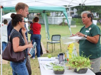 Gardening at the How to Festival