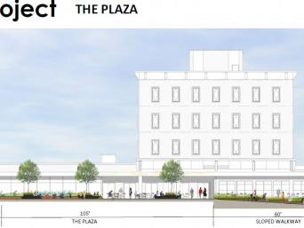 The Plaza - Cross Section