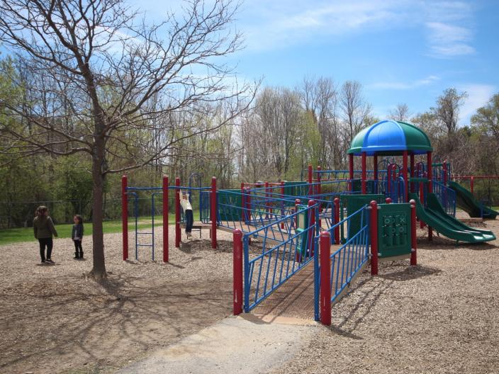 Playground at New Franklin School