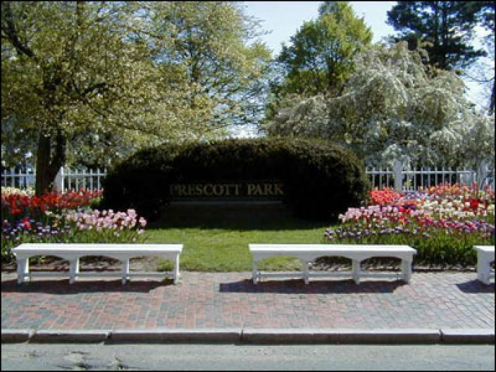Main Entrance to Prescott Park