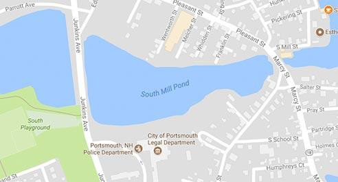 Google Map of South Mill Pond