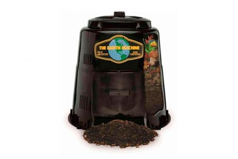 Earth Machine backyard compost bin