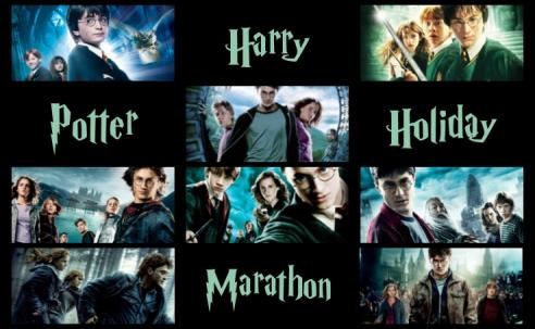 Harry Potter marathon