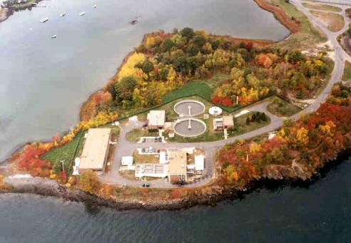 Peirce Island Wastewater Treatment Facility