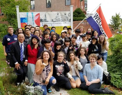 Visitors from our Sister City, Nichinan, Japan