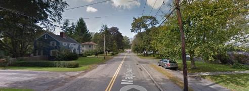 Google view of Maplewood Avenue