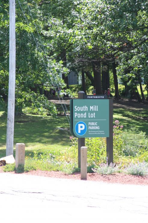 South Mill Pond Parking Lot