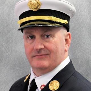 Deputy Fire Chief James B. Heinz