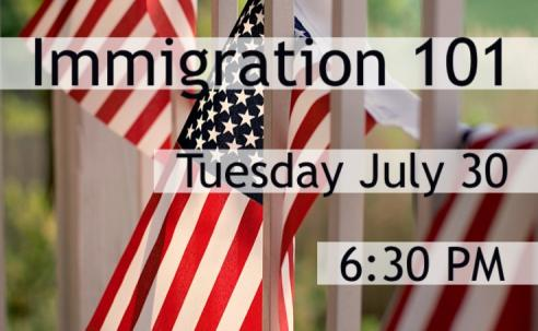 Immigration 101, Tuesday July 30 | City of Portsmouth